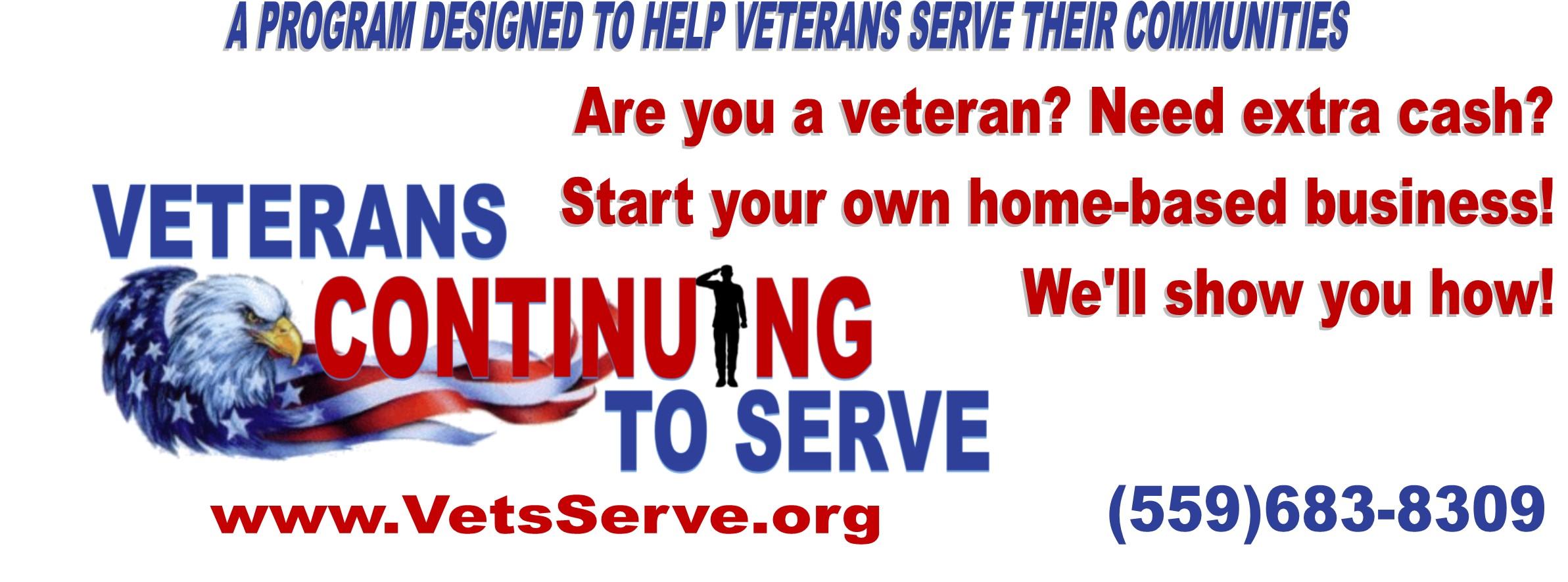 Veterans Continuing To Serve